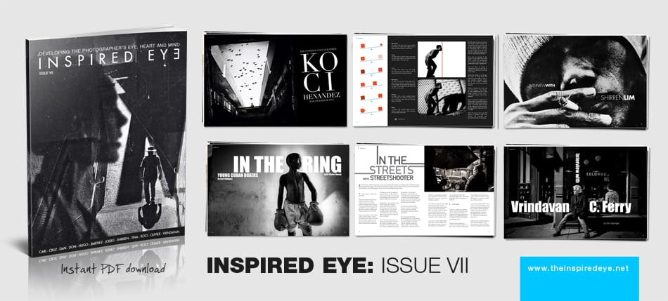 February 28th 2014 issue 7 inspired eye is released